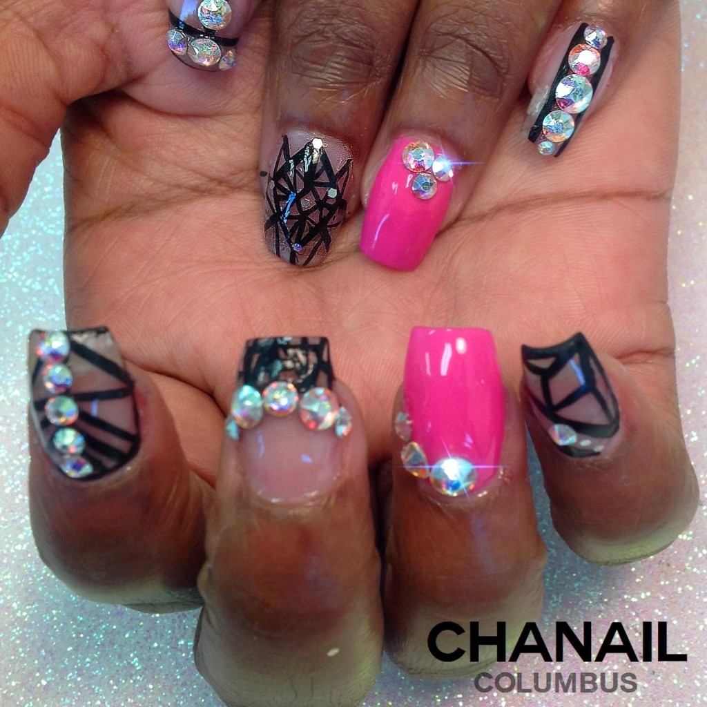 more crazy nail art done in columbus, ohio